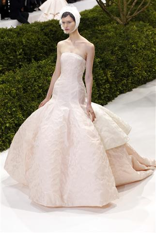 dior bridal gown