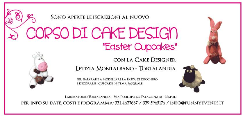 Corso di cake design per pasqua easter cupcakes for Corso di fashion design