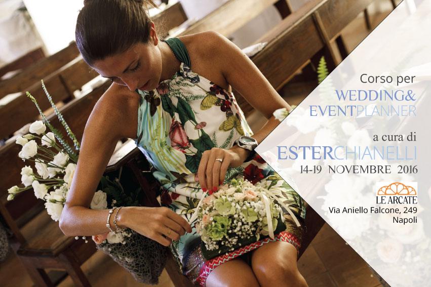 Locandina corso Wedding Planner
