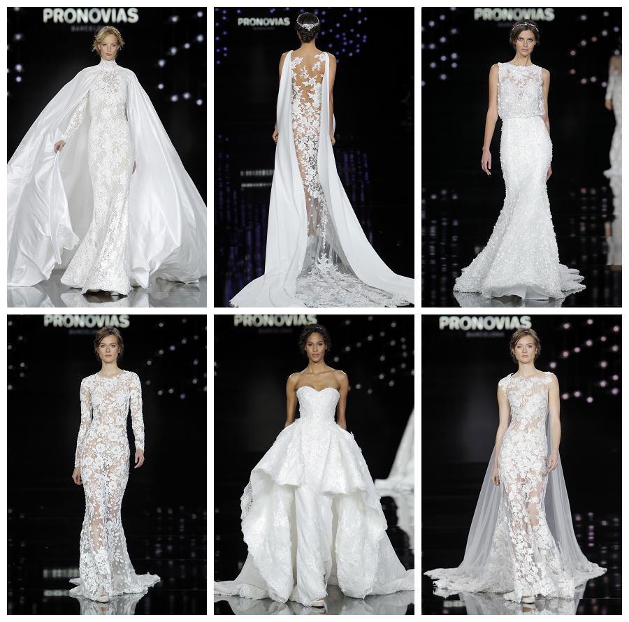 pronovias wedding gown 2017