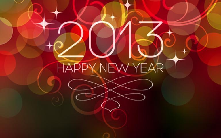 2013 e buoni propositi!