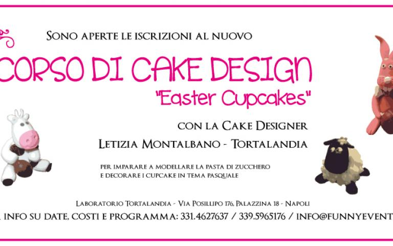 Corso di Cake Design per Pasqua: Easter Cupcakes!