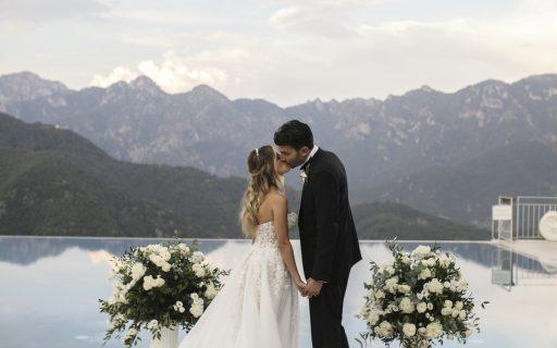 Real wedding | Arcangelo e Vittoria: classy and natural