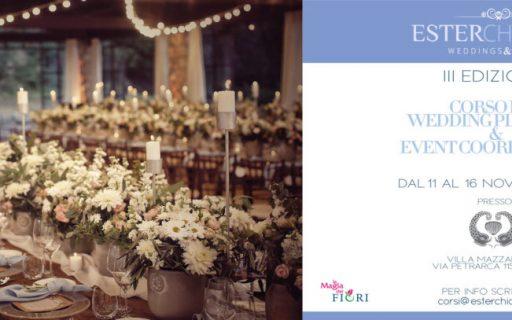 Corso per Wedding Planners & Event Coordinators