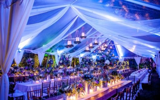 Lighting Designer for the perfect wedding's atmosphere!