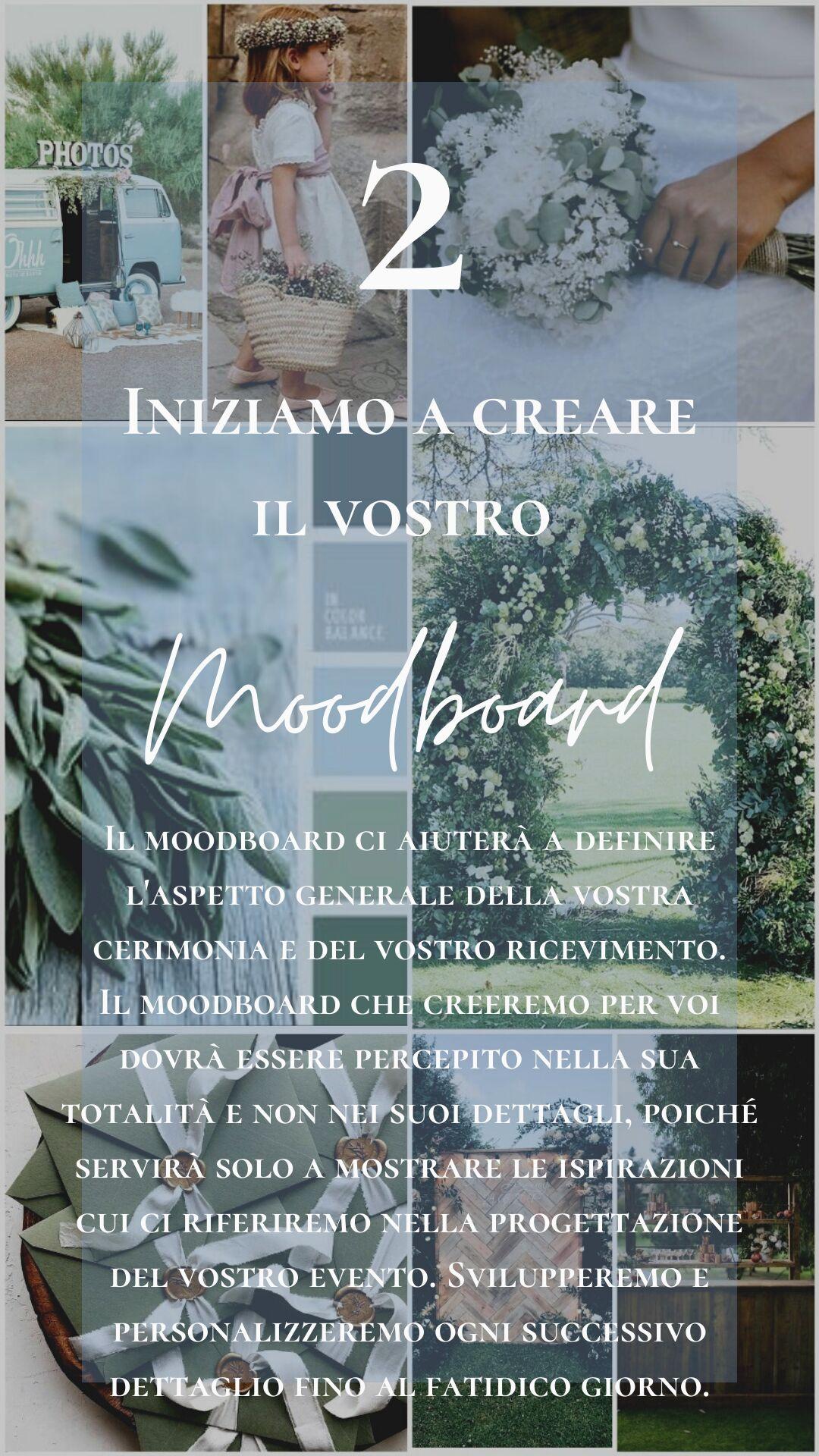 Wedding Planner Napoli - Mood Board