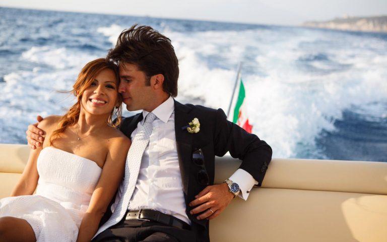 Real wedding | Carlo e Maria Pia: yacht club style