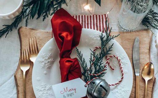 La mise en place natalizia: pillole di stile