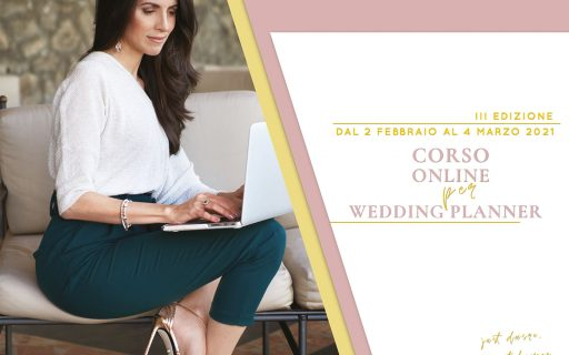 Corso online per Wedding Planner
