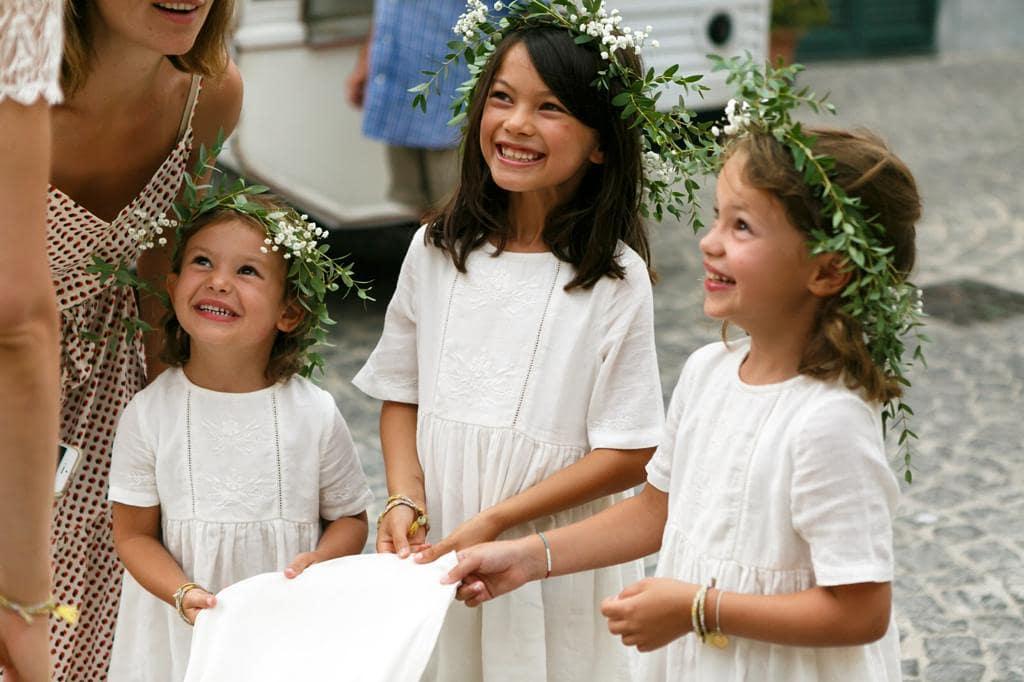 procida bridesmaids